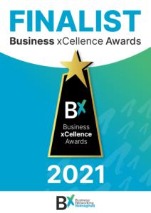 Nik Cree 2021 Business xCellence Awards