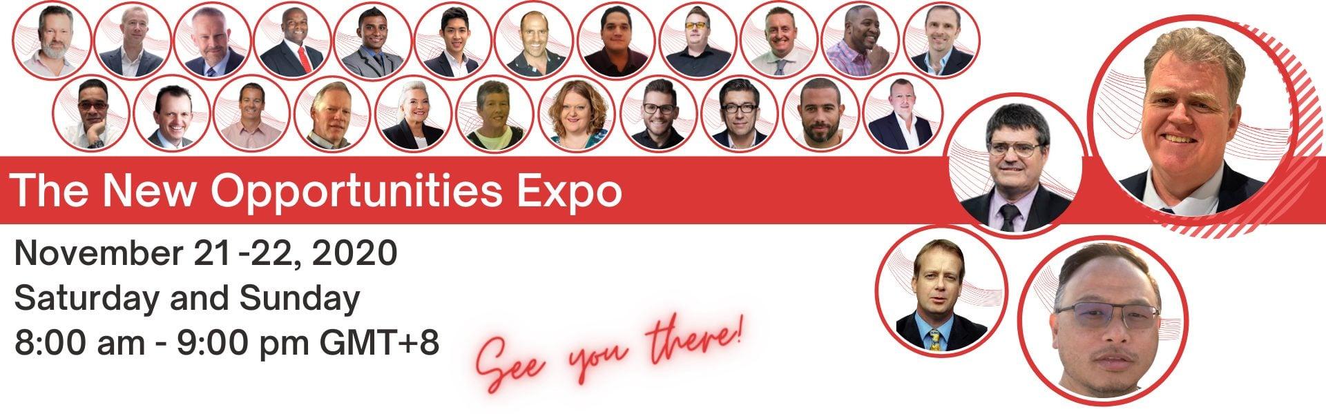 New Opportunities Expo November 2020