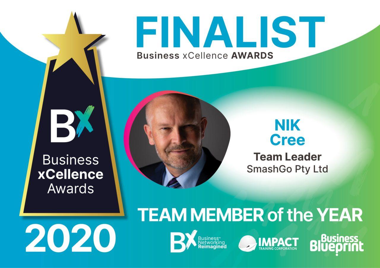 Nik Cree Bx Team Member Of The Year Finalist 2020