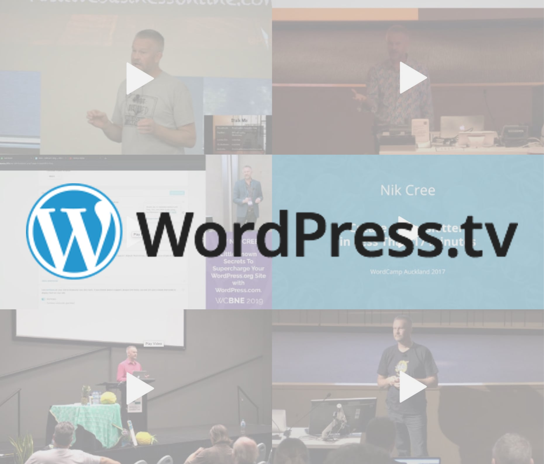 Nik Cree on WordPress TV