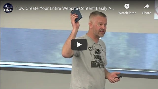 How to Create Your Entire Website Content Easily And Effortlessly by Nik Cree WordCamp Brisbane 2017.jpg